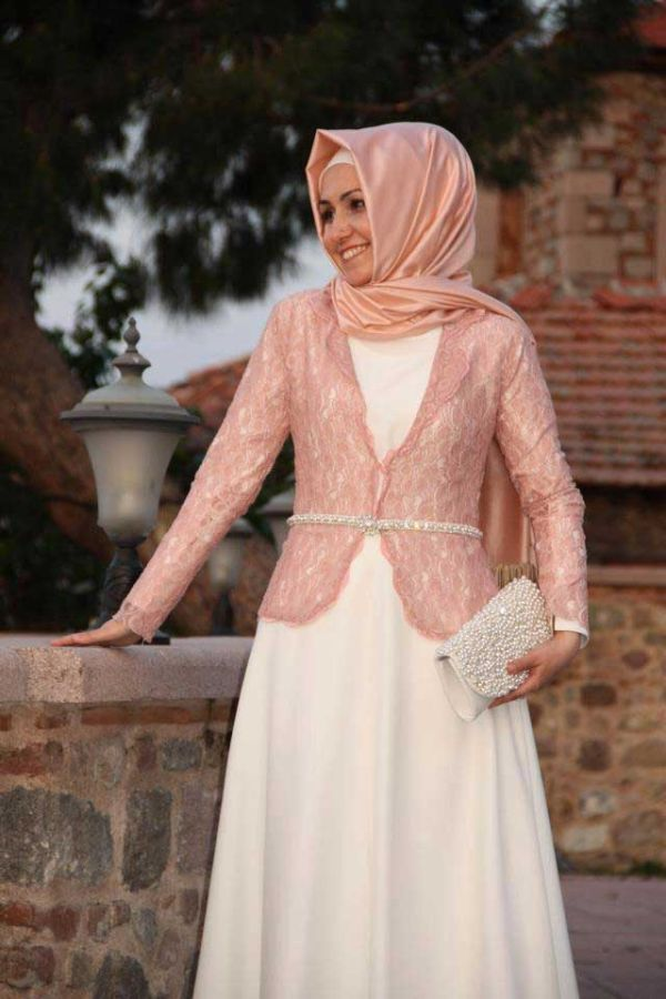 hijab  gown dress
