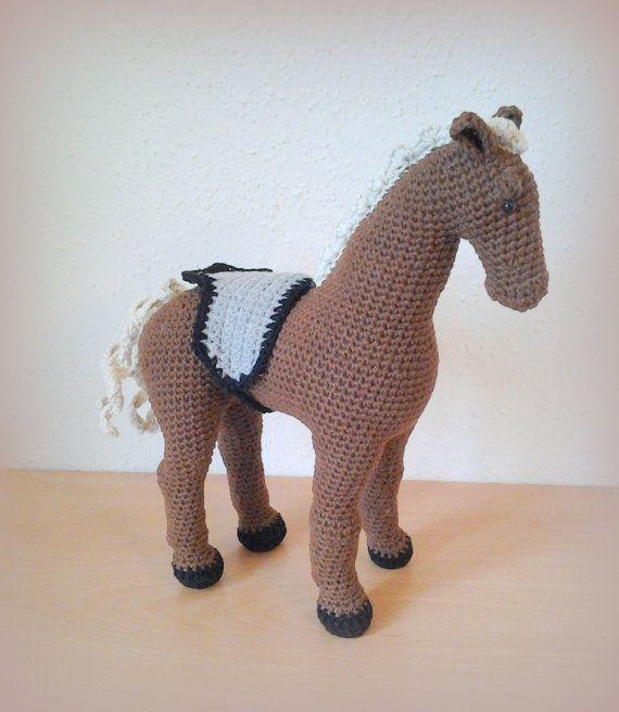 Crochet Horse Como by CrochetlandRV on Etsy