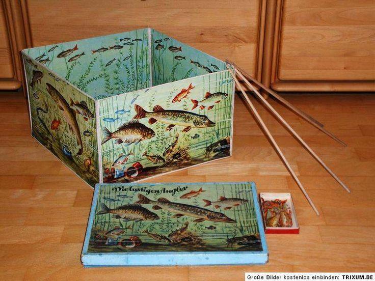 """Geschicklichkeitsspiel """"Die lustigen Angler"""". Habe ich oft mit meiner Mama gespielt als ich klein war"""