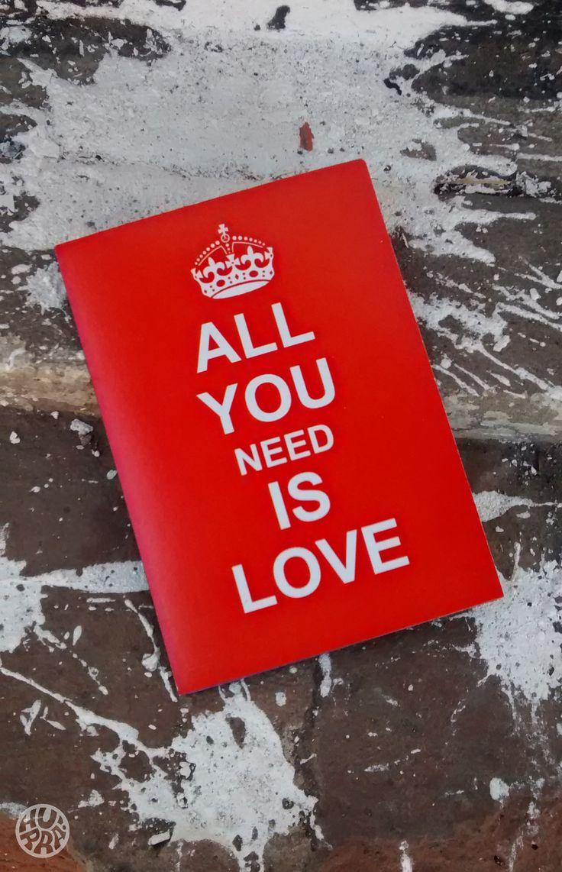 All you need is Love! Ventas por menor y mayor f/hurratallercreativo // holahurra@gmail.com