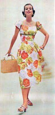 Summer dress vintage 1950