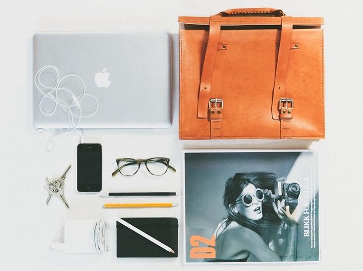 Leather goods by Mangschau. Photo by Hanne gundersen.