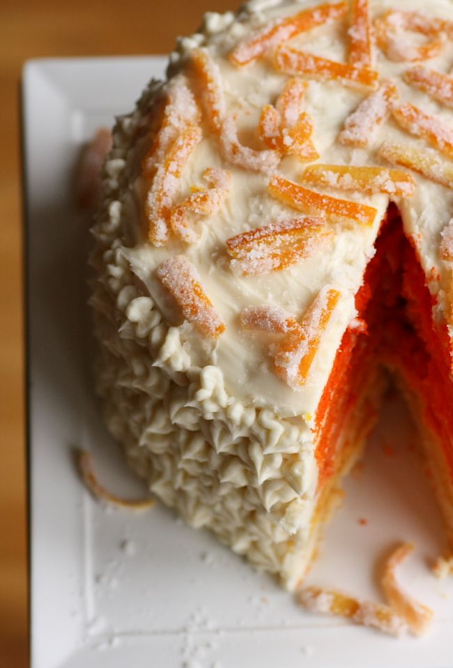 Better With Butter - fantastic food blog with lots of great recipes and foodie tips: Cakes Desserts, Ombre Cakes, Betterwithbutt Cakes, Cakes Layered, Orange Cakes, Food Blog, Cakes Ombre, Eating Cakes, Orange Shade