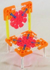 Kid K'NEX Bear chair