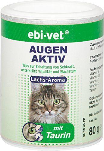 Aus der Kategorie Nahrungsergänzung  gibt es, zum Preis von EUR 5,99  Hauptwirkstoff in den EBI-VET Augen Aktiv Lachs Tabs ist das Taurin. Es ist eine lebenswichtige Aminosäure und kann von Katzen im Gegensatz zum Beispiel zu Menschen oder Hunden nicht in Eigensynthese hergestellt werden. Das macht eine Beifütterung von Taurin notwendig. Es erhält vor allem die Sehkraft der Katze, unterstützt die Herzfunktion und beugt Mangelerscheinungen bei Herz, Nerven und Gehirn vor. EBI-VET Augen Aktiv…