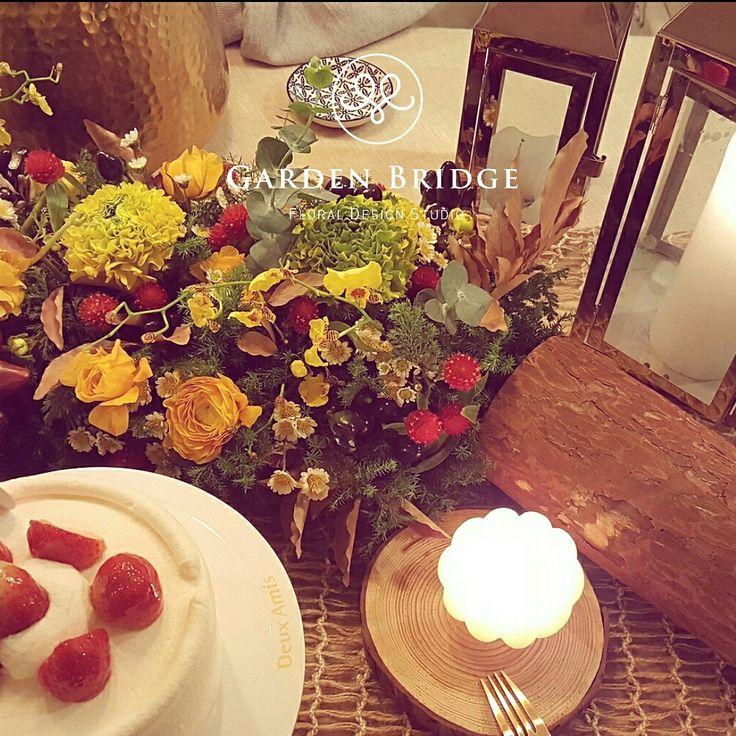 Flower table deco GardenBridge academy seoul korea florist