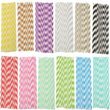 2016 High Quality 25pcs Drinking Blue Striped Paper Straws Wedding Birthday Party Supplies Free Shipping(China (Mainland))