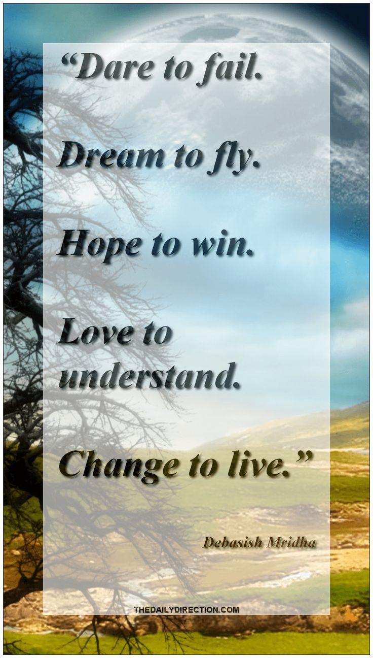 Inspiring Debasish Mridha hope quote.  Visit our site for more.  ♡  #debasishmridha #hope #quote