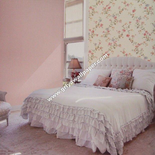 Harga Wallpaper Dinding Kamar Tidur Romantis