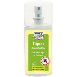 Spray lotion anti-tique pour la peau bio – 100ml - Aries