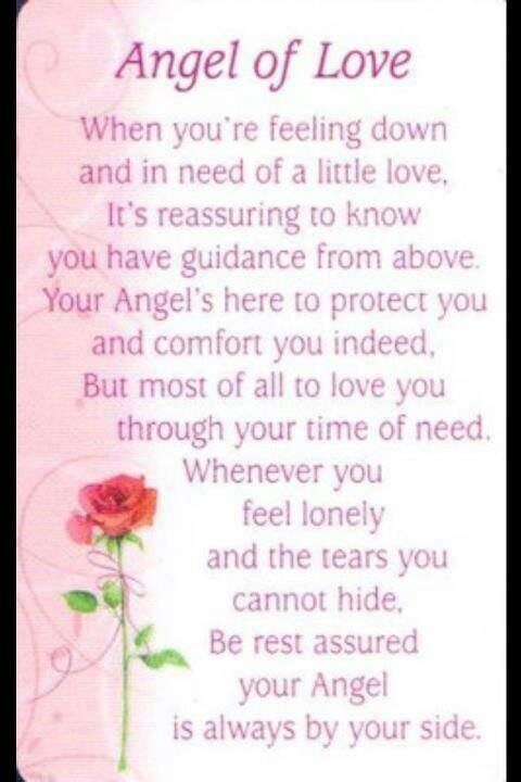 It's so comforting to know that our Angeles are with us all the time  #wingsofangels