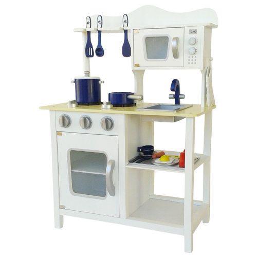 White Country Toy Kitchen