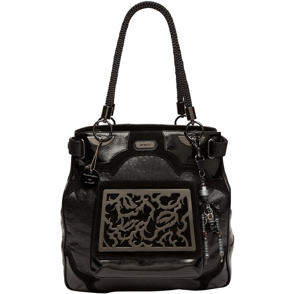 Mimco Love Conquers Tote ($825) ❤ liked on Polyvore