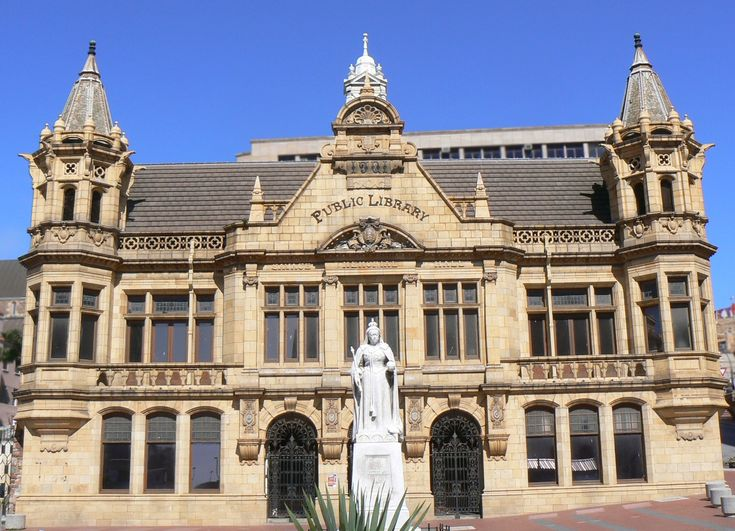 Main Library, Port Elizabeth, South Africa.