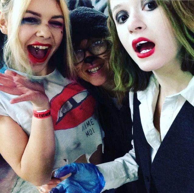 Les2tons au TGS  Make up Harley and Joker