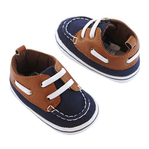 Carters Boys Boat Shoes - Size 0-3M