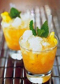 Bourbon Peach Smash Cocktail Recipe | Recipes & Kitchen Stuff ...