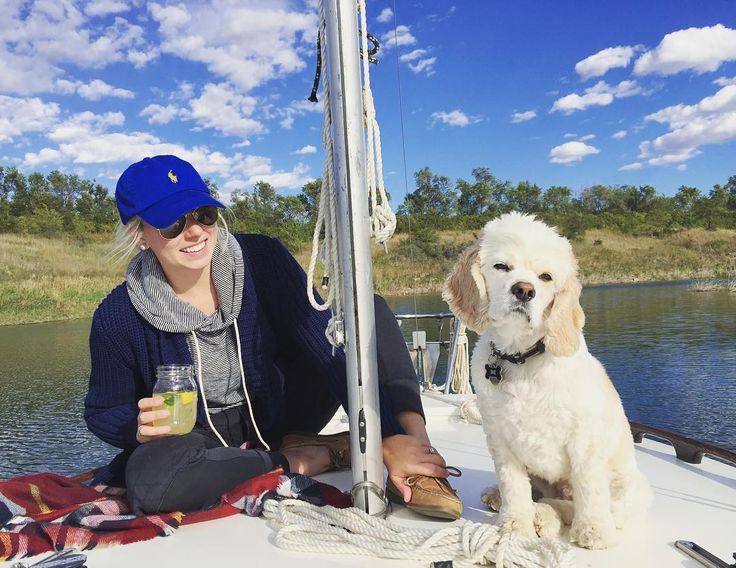 Soon we will be back aboard the #sanjuan1226 - until then we will be drinking our mason jar sangria on land dreaming of wind and warm weather #sailing #sailboat #sailingdog #lakesakakawea #sanjuan21 #sj1226 #sail #windinoursails by sanjuan1226
