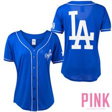 Los Angeles Dodgers Victoria's Secret PINK® Mesh Jersey