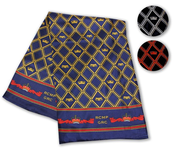 We can bet you've never had a patriotic scarf like the RCMP Crown Tubular Scarf. Paying tribute to her Majesty, Queen Elizabeth II, the RCMP Crown Tubular Scarf represents the Queen's reign of over 60 years.