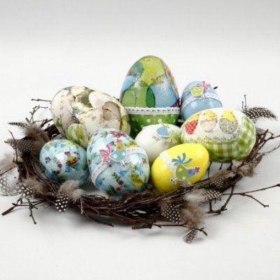 Idee 15 - Decoupage eieren