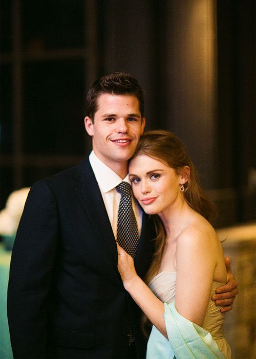 Teen Wolf ... Max Carver and Holland Roden as Aiden and Lydia