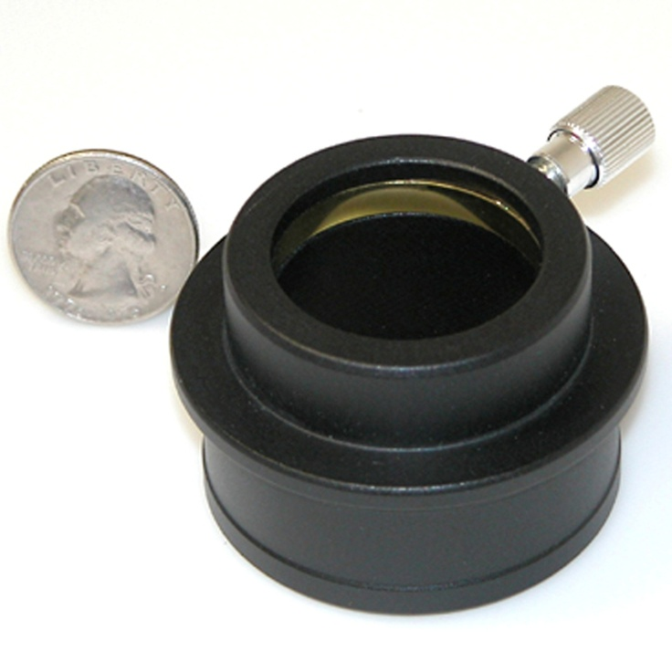 """TeleVue - High hat adapter to use 1.25"""" eyepieces in 2"""" focusers, matte satin finish"""