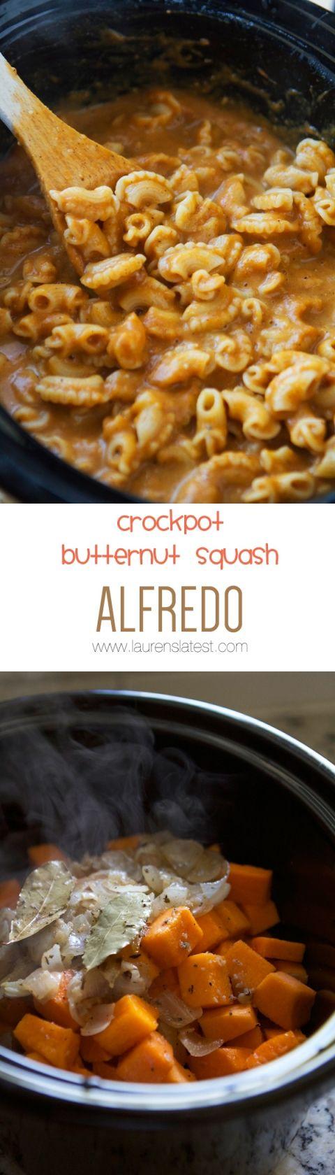 Crockpot Butternut squash. Sub the cream w/ full fat coconut milk, omit the cheese and serve over zucchini noodles