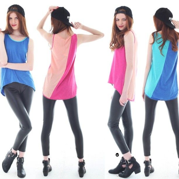 Summer is over but live it up the colorfulness, CR Amee (blue and pink), IDR145.000. FREE SHIPPING nationwide! http://pict.com/p/B8E