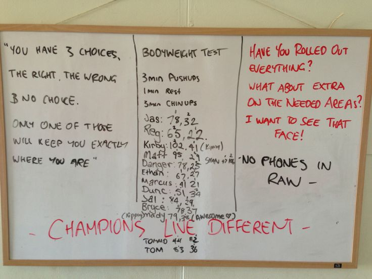 Bodyweight Test.. Give this a shot!