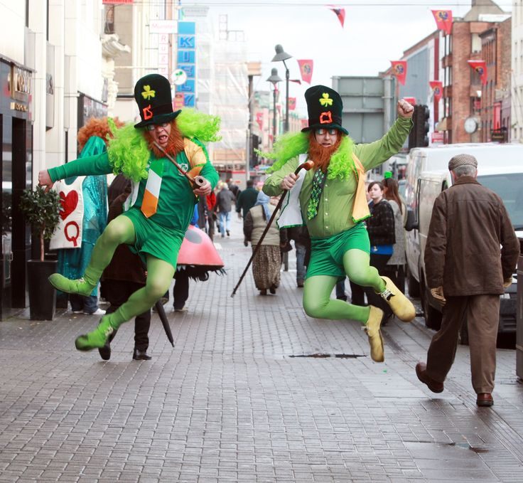 St Patricks Day parade in Dublin.