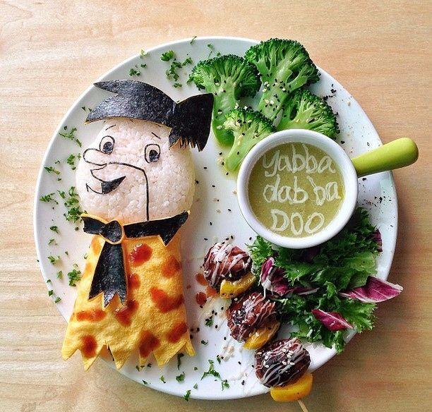 Gli antenati (idee-per-far-mangiare-verdure-ai-bambini) by Samantha Lee