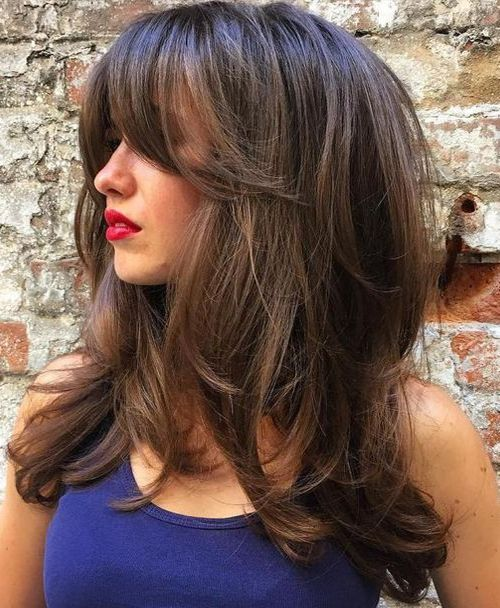 Wavy Mid Length Chic Hairstyles 2018 Stylish Hairstyles 2018
