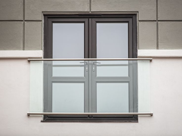 glass stainless steel juliet balconies