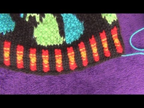 How to Knit Corrugated Rib - YouTube