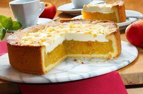 Perfekt für Weinliebhaber - Apfel-Wein-Torte: http://www.ichliebebacken.de/rezeptebox/torten/apfel-wein-torte