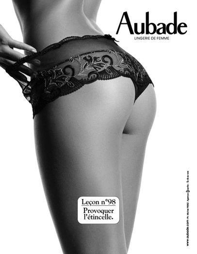 Les leçons de séduction par Aubade  #lesleconsdeseduction #aubade #lingerie #lebloglingerie lebloglingerie.com