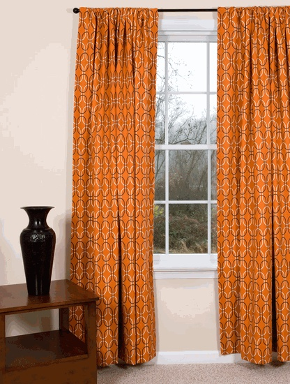 17 best images about mid century modern curtains on for Modern drapes and curtains