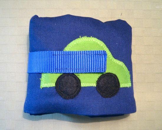 Create oh la la: DIY Car Caddy | Gör-det-själv: Leksaksbilfodral