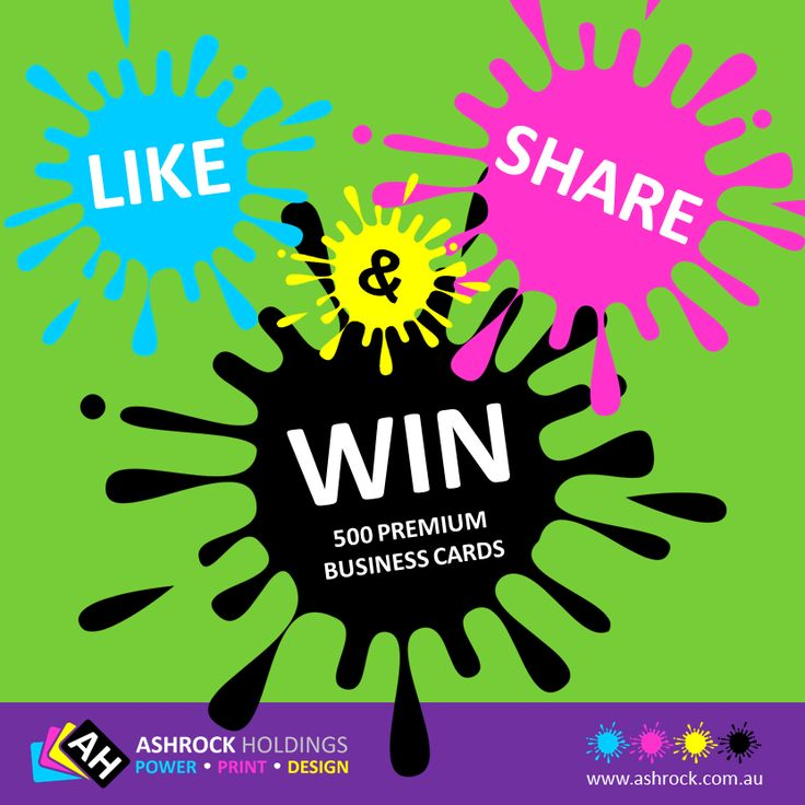 Would your like to Win 500 Premium Double Sided Business Cards for your business or maybe a friend's or family member's business?  Then all you need to do, to be in the running is two simple things:  1: Like our Facebook Page - ASHROCK HOLDINGS 2: Share this Post before Jan, 1st 2015.  That's it! That's all you need to do, to be in the running!  Winner will be drawn & notified 5th January 2015.  Tags: #win #free #businesscards