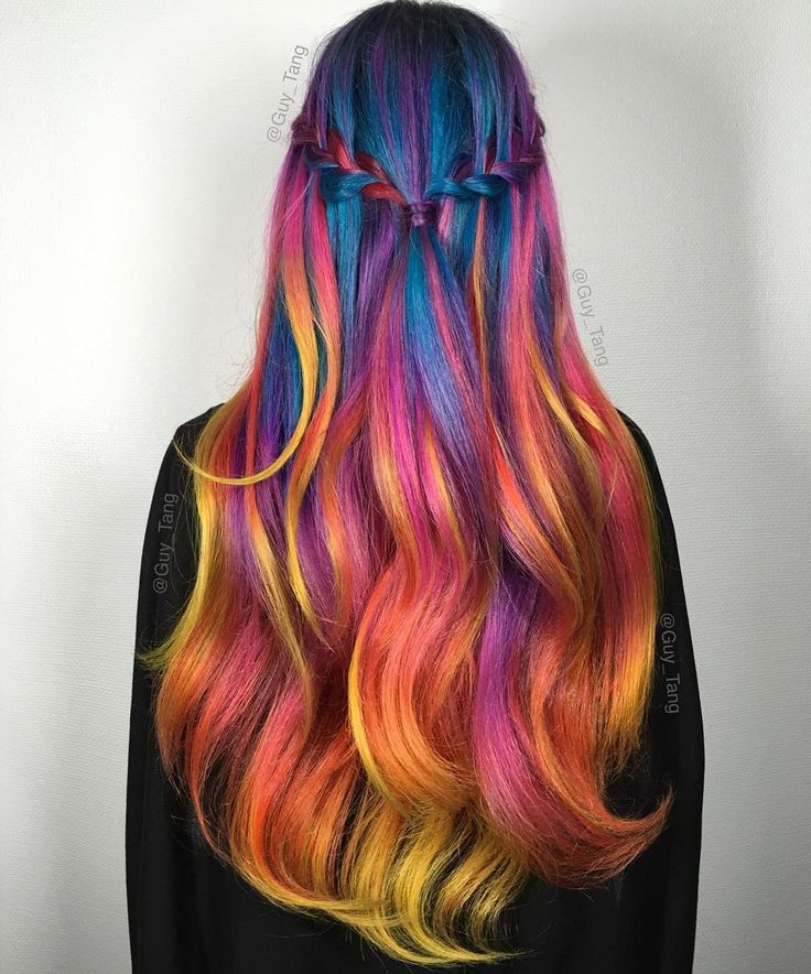 Best 25+ Flame hair ideas on Pinterest | Orange hair dye ...