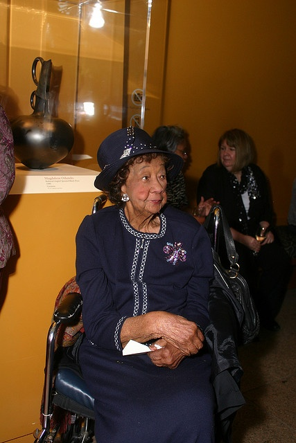 Dorothy Irene Height (1912–2010) was an administrator, educator, and social activist. She was the president of the National Council of Negro Women for forty years, and was awarded the Presidential Medal of Freedom in 1994, and the Congressional Gold Medal in 2004.