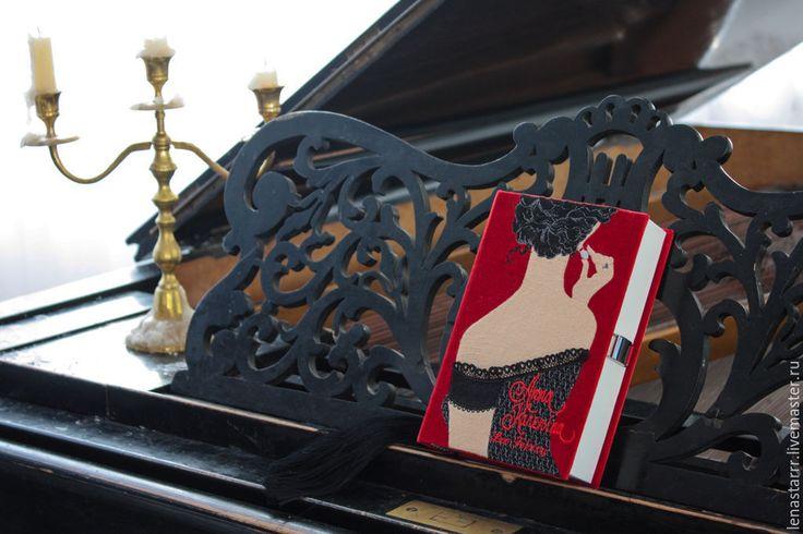 """Купить Клатч-книга """"Анна Каренина"""" - однотонный, клатч, клатч в виде книги, клатч-книга"""