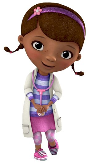"Dottie ""Doc"" McStuffins is the titular character of the show with the same name. She is a..."