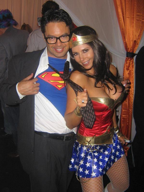 Super Man and Wonder Woman