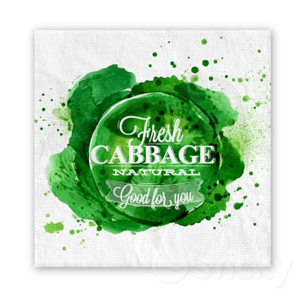 Canvas print CABBAGE by Sticky!!!