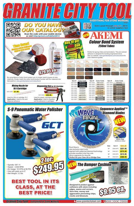 New flyer for July! Akemi, Rival Wave Blade, 2x Polisher deals and so much more!