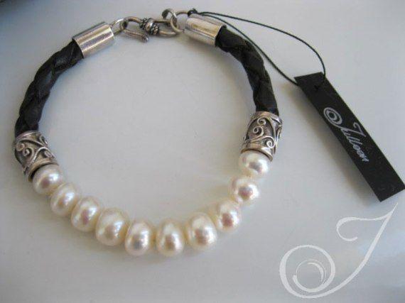 Hayley White Pearl Bracelet   Pearl Jewellery