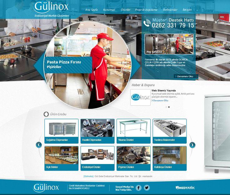 endüstiriyel web site tasarım - web design - creative