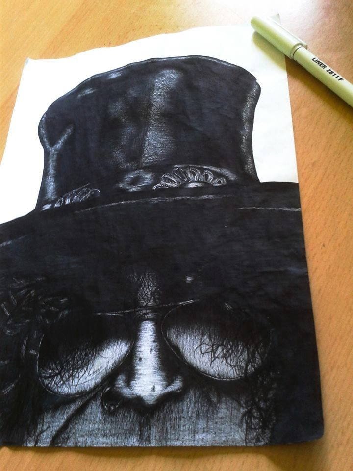 #slash #gunsnrosses #drawing #blackandwhite #drawing #centropen